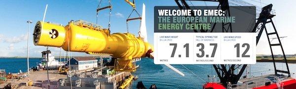 Auch das SR2000 wird zunächst am European Marine Energy Centre getestet.