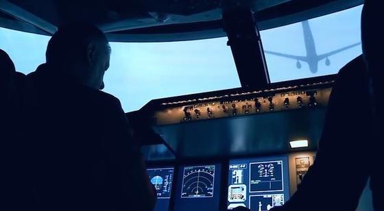Berufspiloten haben das Tanken in der Luft nach dem Konzept der Schweizer Forscher im Simulator erfolgreich getestet.