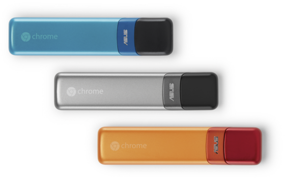 Der Chromebit von Google kann als Stick an jedem beliebigen Bildschirm mit HDMI-Anschluss angeschlossen werden und macht ihn zum PC.