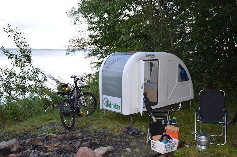 d ne bringt wohnwagen f rs fahrrad auf den markt. Black Bedroom Furniture Sets. Home Design Ideas