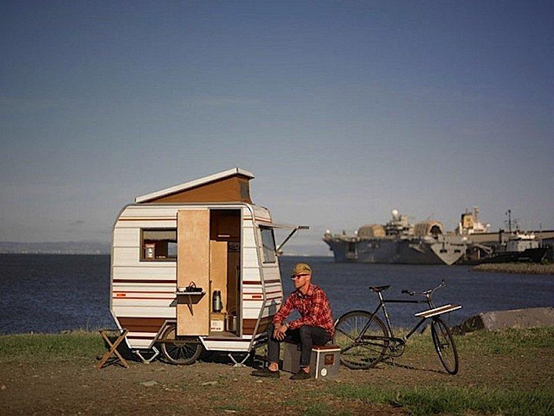 Der Cozy Camper des US-amerikanischen Designers Kevin Cyr.
