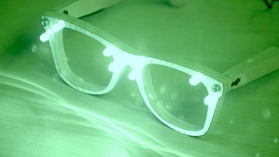 Die Brille von AVG soll vor Gesichtserkennungssoftware schützen.