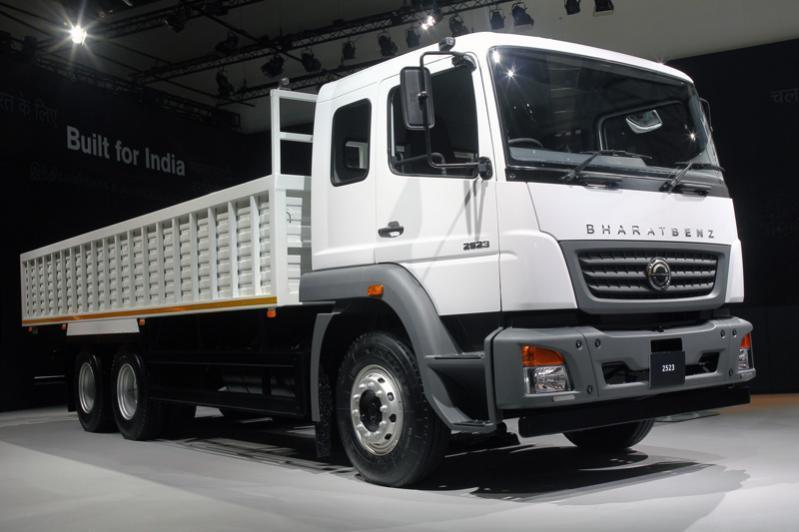 BharatBenz: Daimler hat für Indieneine eigene Lkw-Marke konzipiert.