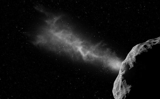 Mit sechs Kilometern pro Sekunde soll eine Sonde in den Asteroiden Didymoon einschlagen. Der Koloss soll einen halben Millimeter pro Sekunde langsamer werden.