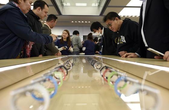 Run auf die Apple Watch: Die Uhr wurde innerhalb von nur sechs Stunden eine Million mal verkauft.