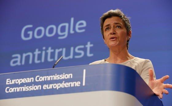 EU-Wettbewerbskommissarin Margrethe Vestagerhat ein formelles Verfahren gegen Google eingeleitet.