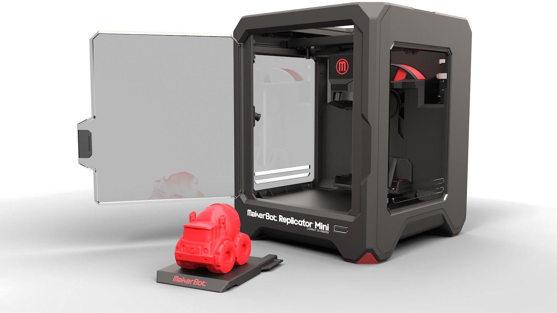 3D-Drucker Replicator von Makerbot. 2013 kaufte Stratasys das Start-up für 400 Millionen US-Dollar.