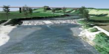 Strom aus einem unsichtbaren Wasserkraftwerk