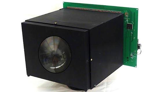 Noch nicht schön, aber autark: die an der Columbia University entwickelteSelf-Powered Camera versorgt sich selbst mit Strom.