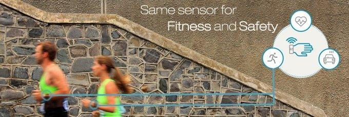 Warnt nicht nur vor Sekundenschlaf: AdvicyDrive ist auch als Fitness-Sensor einsetzbar.