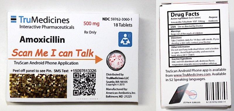 Wenn der Beipackzettel verloren gegangen ist, kann die neue App TruScan helfen.
