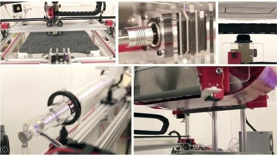 DisneyResearch hat einen 3D-Drucker entwickelt, der Stoffkreationen drucken kann.