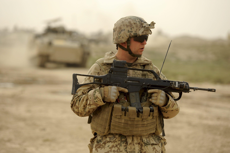 Das Standardgewehr der Bundeswehr soll ausgetauscht werden. Unklar ist bislang gegen welche Waffe.
