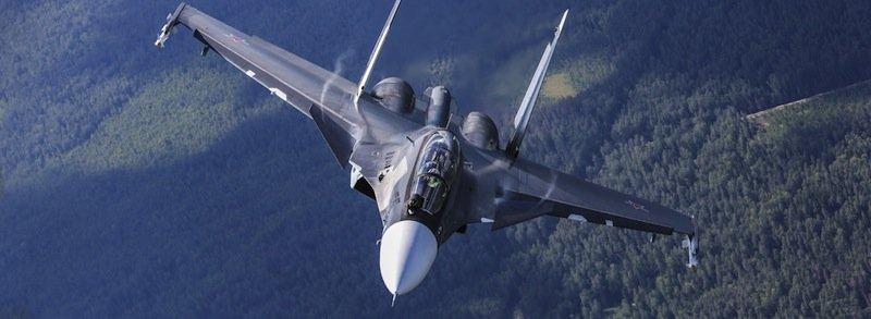 Kampfjet Cy30-CM des Herstellers Irkut: Es ist wahrscheinlich, dass der 3D-Druck zukünftig auch für Militärmaschinen zum Einsatz kommt.