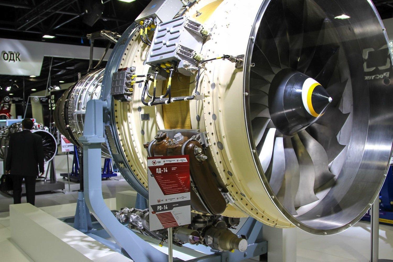 Das PD-14: Teile des Triebwerks will Hersteller Aviatvigatel zukünftig mit dem 3D-Drucker produzieren.