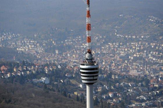 Talkessel Stuttgart: Hier ist die Luft besonders schlecht.
