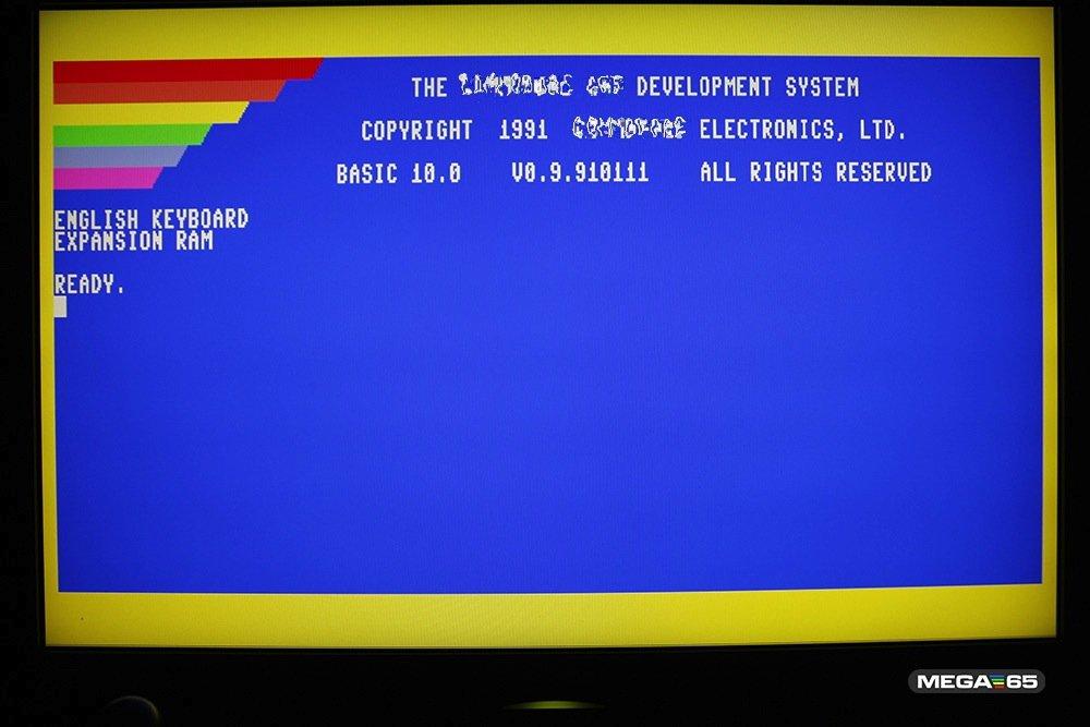 Der Mega65 soll der Nachfolger des C64 werden. Da sind, nun ja, Kompromisse auch bei der Grafik wohl unvermeidlich.