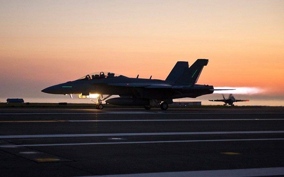 Die Boeing EA-18G Growler wird vor allem auf Flugzeugträgern der US Navy eingesetzt.