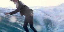 Mit diesem Anzug aus Neopren können Sie surfen und im Büro sitzen