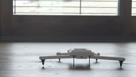 Phone Drone beim Start: Derzeit sammeln die Erfinder Geld für die Serienproduktion. Das Ziel: 224.000 Euro.