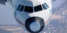 Landen im extremen Langsamflug reduziert den Fluglärm