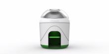 Ökologische Waschmaschine arbeitet mit Fußantrieb