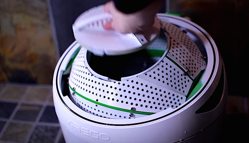 Im Sommer 2015 beginnt das große Treten: Da soll die Waschmaschine Drumi auf den kanadischen Markt kommen.