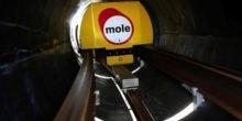 Gütertransport im unterirdischen Tunnelsystem