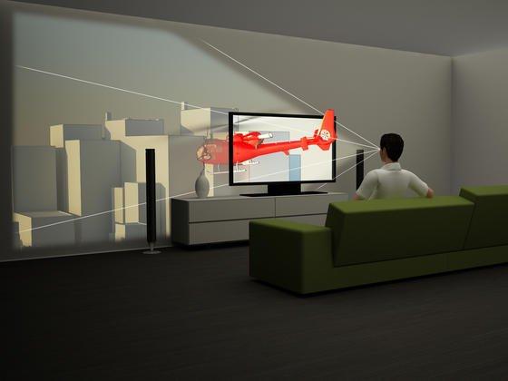 Mit Antireflexbeschichtungen lassen sich Bildschirme bauen, die dreidimensionale Bilder vorgaukeln.