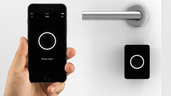 Noki ersetzt nerviges Schlüsselkramen: Das Smartphone kommuniziert mit dem Öffnungssystem via Bluetooth oder WLAN.