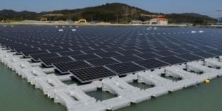 Japan baut weltgrößten schwimmenden Solarpark
