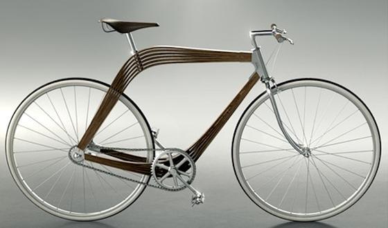 Das Aero-Rad wirkt außerordentlich filigran, hält aber trotzdem Belastungen beim Fahren aus.