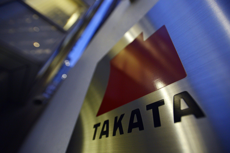 Logo des japanischen Autozulieferers Takata.