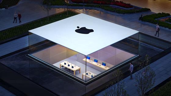 Apple Store in Istanbul: Der kalifornische Computerhersteller soll sich von seinen Plänen verabschiedet haben, ein eigenes TV-Gerät auf den Markt zu bringen.