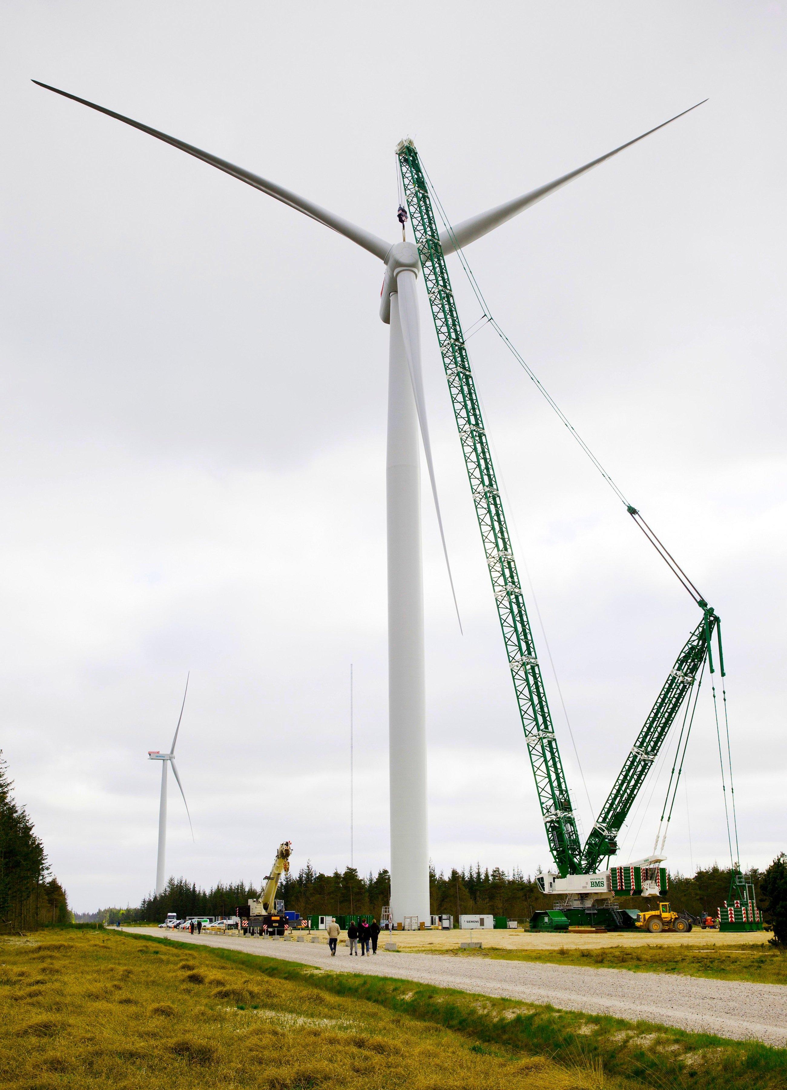 Die neue Großanlage von Siemens soll in zwei Jahren die Serienreife erreichen.