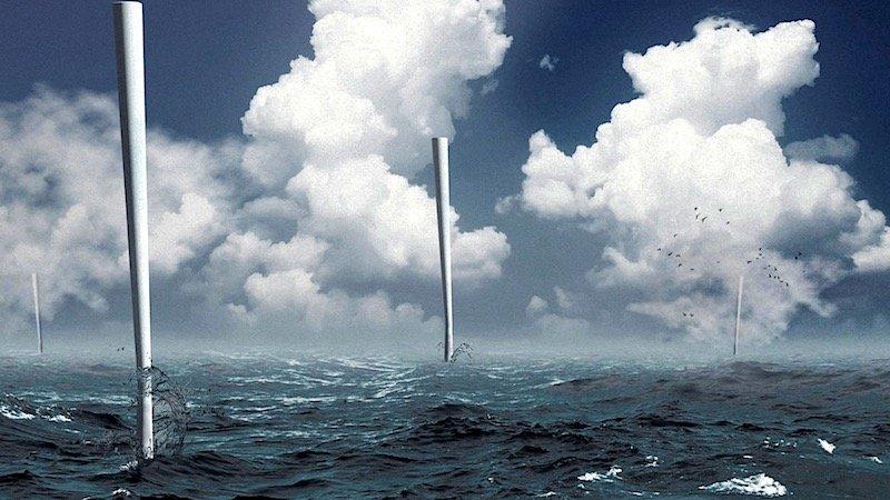 Die Windanlagen von Vortex Bladeless sollen auch Offshore-tauglich sein.