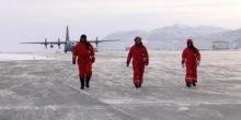 Radarblicke aus der Luft 50 m tief ins ewige Eis von Grönland