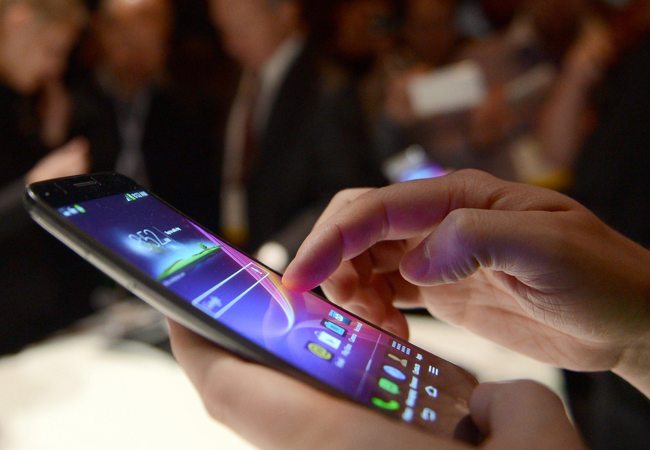 LG-Smartphone mit dem Betriebssystem Android auf der CES in Las Vegas: Trotz Reset-Funktion lassen sich anschließend sogar Passwörter und Anmeldedaten rekonstruieren.