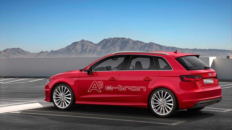 Der A3 e-tron: Audi exportiert die meisten Exemplare des Hybridautos in Länder, die die Elektromobilität stärker fördern.