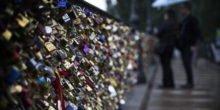 Paris demontiert Liebesschlösser auf der Brücke Pont des Arts