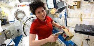 Italienische Astronautin Cristoforetti stellt Langzeitrekord auf