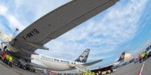 DLR hat Pflaster für defekte Flugzeuge entwickelt