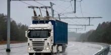 Siemens testet Hybrid-Lkw auf Autobahn mit Oberleitung