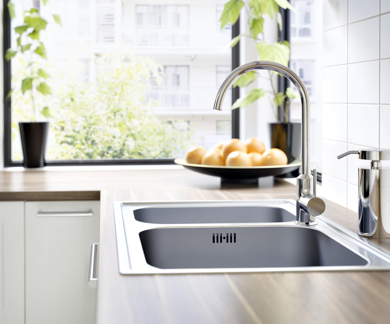 Mit den von Ikea angebotenen Produkten für ein nachhaltigeres Leben zu Hause könne beispielsweise der Wasserverbrauch gesenkt werden, wirbt der Konzern.