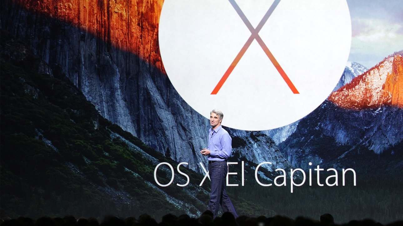 Craig Federighi, Senior Vice President of Software Engineering, stellte auf der Apple-Entwicklerkonferenz das neue Betriebssystem El Capitan vor.