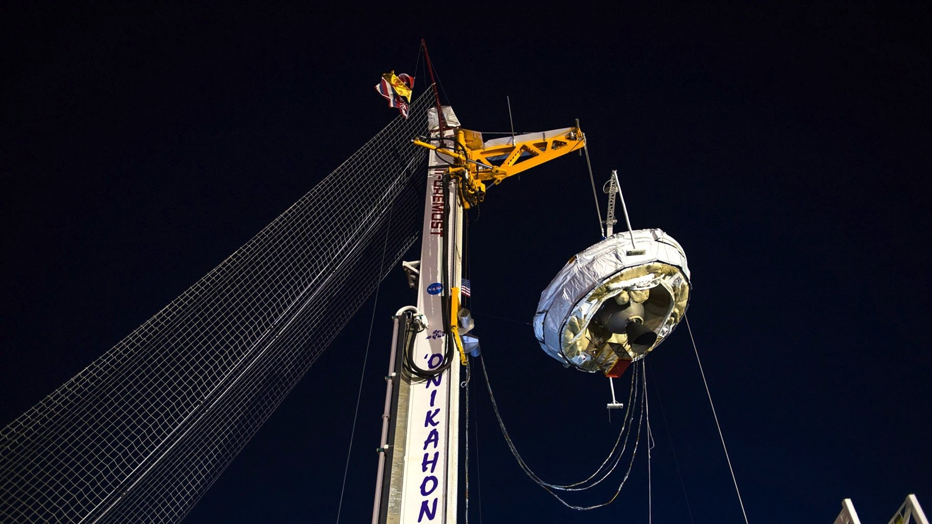 Riesenfallschirme wie derLDSD werden gebraucht, um bei bemannten Mars-Missionen große Lasten auf dem Mars abzusetzen. Aufgrund der dünnen Atmosphäre ist das schwierig.