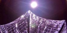 Satellit der Planetary Society fliegt nur mit Sonnenlicht