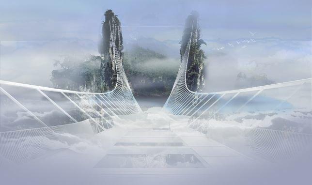 Das Bild einer weißen Brücke, die in den Wolken verschwindet, hatte Architekt Haim Dotan vor Augen, als er den Bau plante.