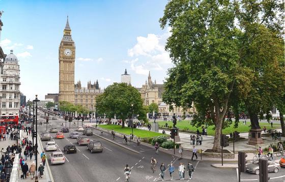 Geplanter Radweg in London: Die Stadt testet zwei Systeme, um die Anzahl der Radfahrer zu ermitteln – ein Radarsystem und ein Körperwärmeerfassungssystem.