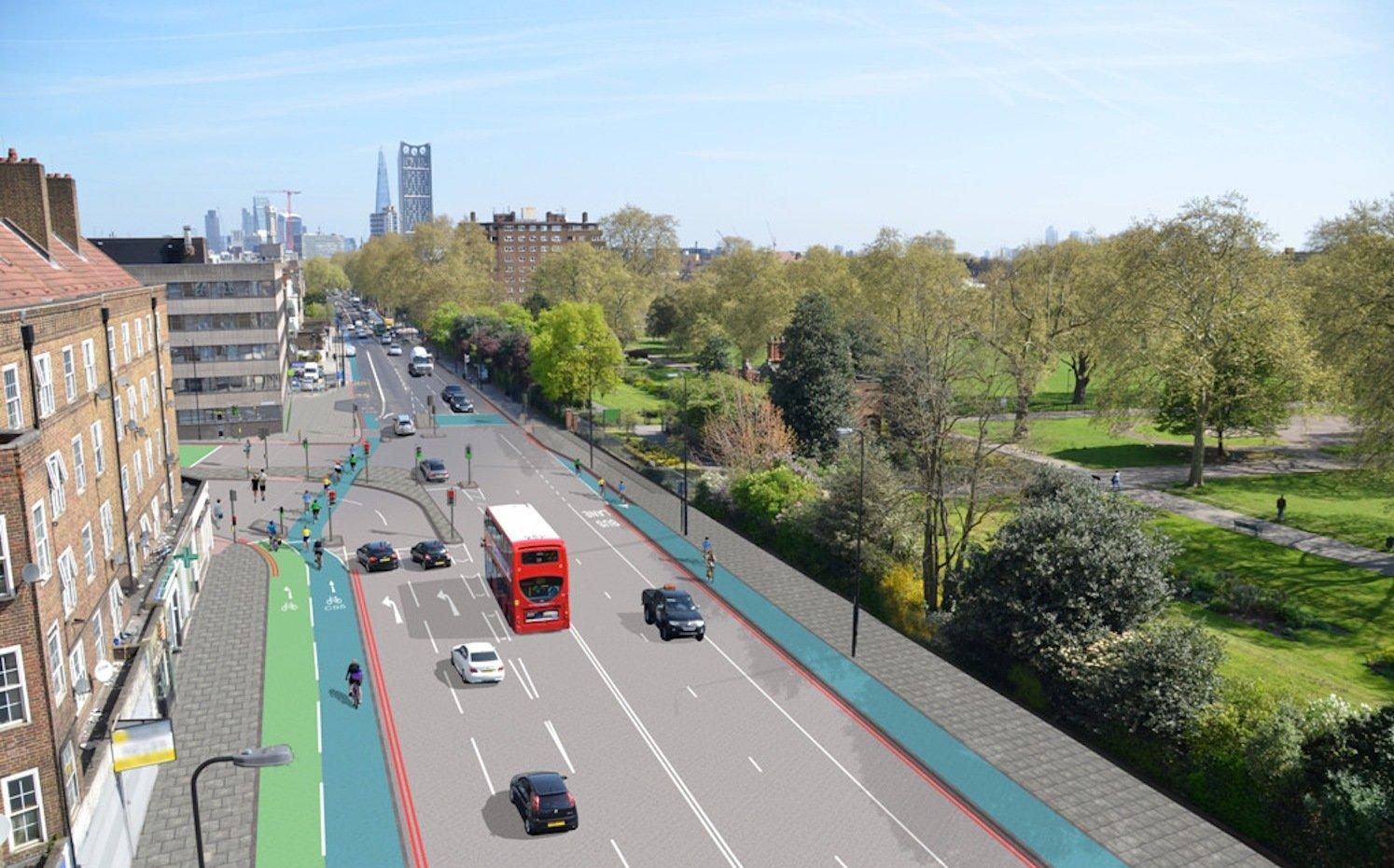 London investiert viel Geld in die Modernisierung der Straßen. Denn schon 2031 soll die Einwohnerzahl die Zehn-Millionen-Marke knacken.
